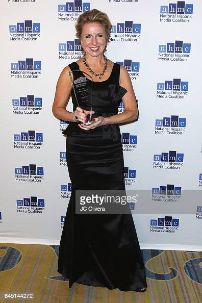 Producer/director Catherine Tambini wins 'The Outstanding Documentary Impact Award' for 'Hate Rising' during the 20th Annual National Hispanic Media...