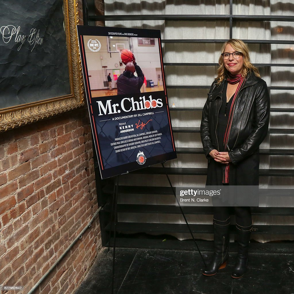 Producer/director Jill Campbell attends the after party for 'Mr. Chibbs' during DOC NYC held at The Loft in Flatiron on November 12, 2016 in New York City.