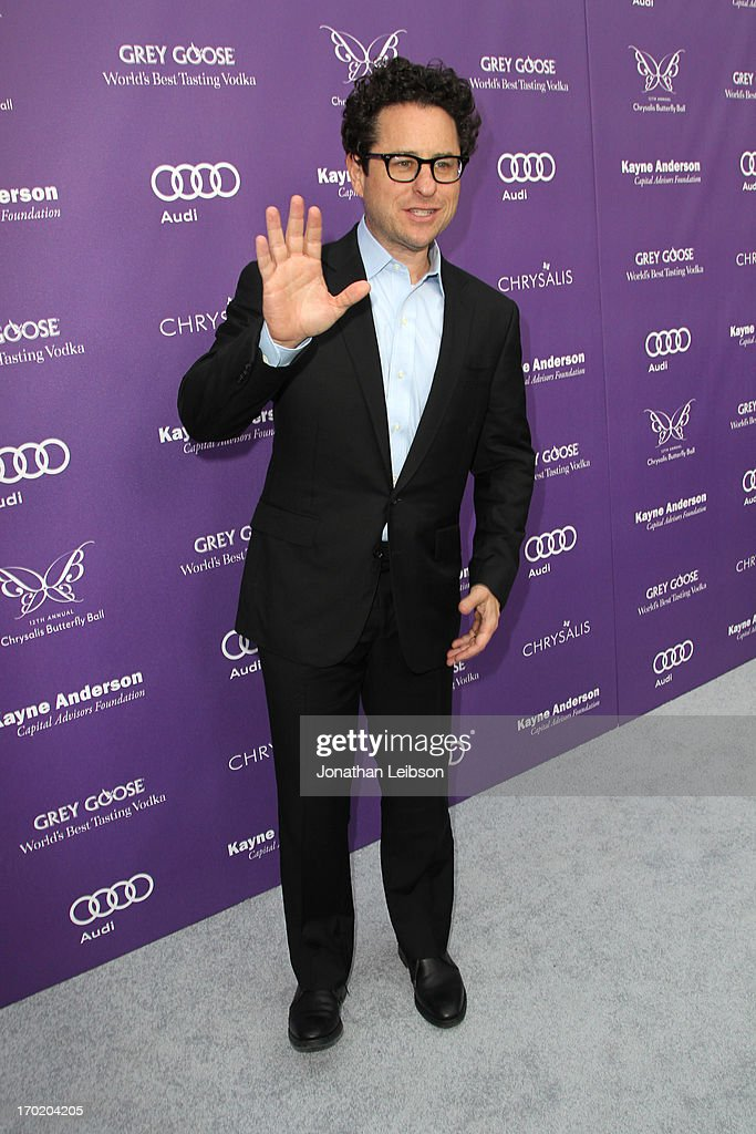 Producer/director <a gi-track='captionPersonalityLinkClicked' href=/galleries/search?phrase=J.J.+Abrams&family=editorial&specificpeople=253632 ng-click='$event.stopPropagation()'>J.J. Abrams</a> arrives at the 12th Annual Chrysalis Butterfly Ball on June 8, 2013 in Los Angeles, California.