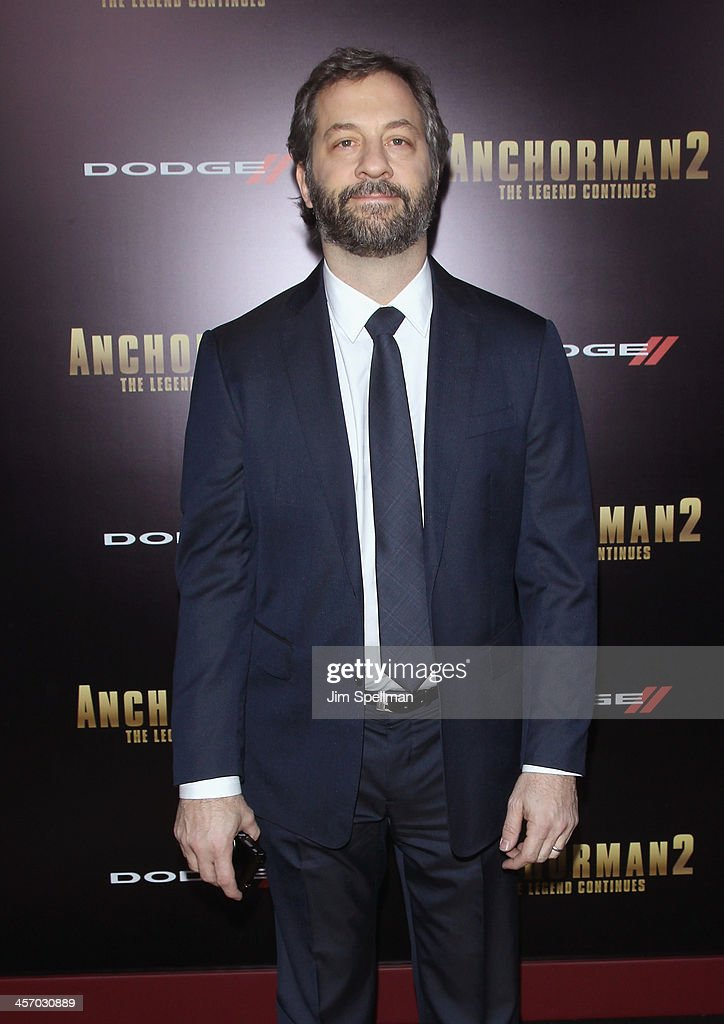 Producer/director <a gi-track='captionPersonalityLinkClicked' href=/galleries/search?phrase=Judd+Apatow&family=editorial&specificpeople=854225 ng-click='$event.stopPropagation()'>Judd Apatow</a> attends the 'Anchorman 2: The Legend Continues' U.S. premiere at Beacon Theatre on December 15, 2013 in New York City.