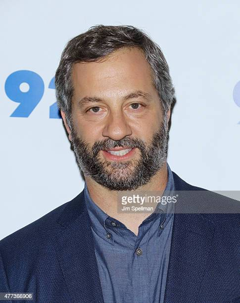 Producer/director Judd Apatow in conversation with Ira Glass at the 92nd Street Y on June 16 2015 in New York City