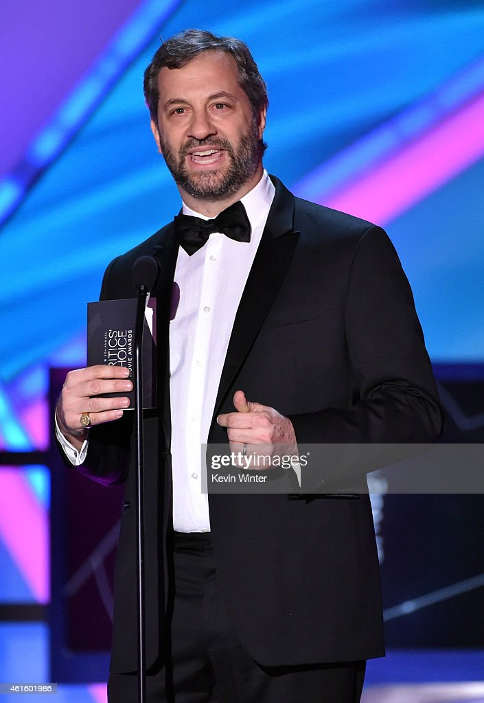 Producer/director Judd Apatow speaks onstage during the 20th annual Critics' Choice Movie Awards at the Hollywood Palladium on January 15 2015 in Los...