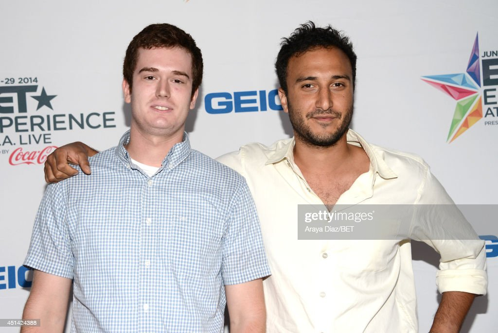 Producer/director Lotfy Nathan (R) and guest attend the BETX Film Festival presented by Geico during the 2014 BET Experience At L.A. LIVE on June 28, 2014 in Los Angeles, California.