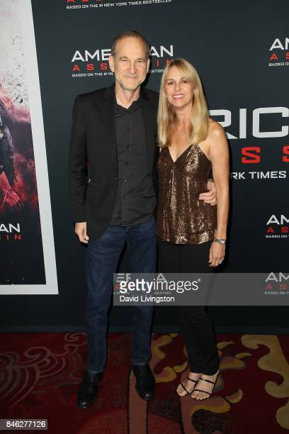 Producer/director Marshall Herskovitz and photographer Landry Major attend a Screening of CBS Films and Lionsgate's 'American Assassin' at TCL...