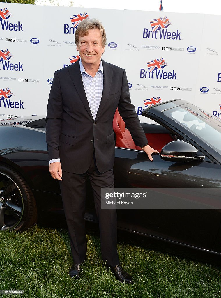 Producer/Director Nigel Lythgoe attends the BritWeek Los Angeles Red Carpet Launch Party with Official Vehicle Sponsor Jaguar on April 23, 2013 in Los Angeles, California.