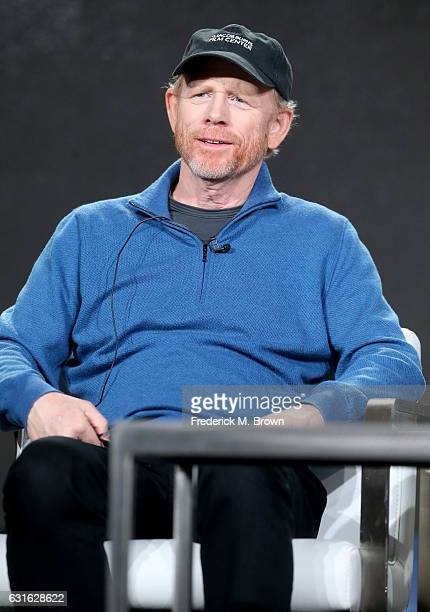 Producer/director Ron Howard of the series 'Genius' speaks onstage during the National Geographic portion of the 2017 Winter Television Critics...