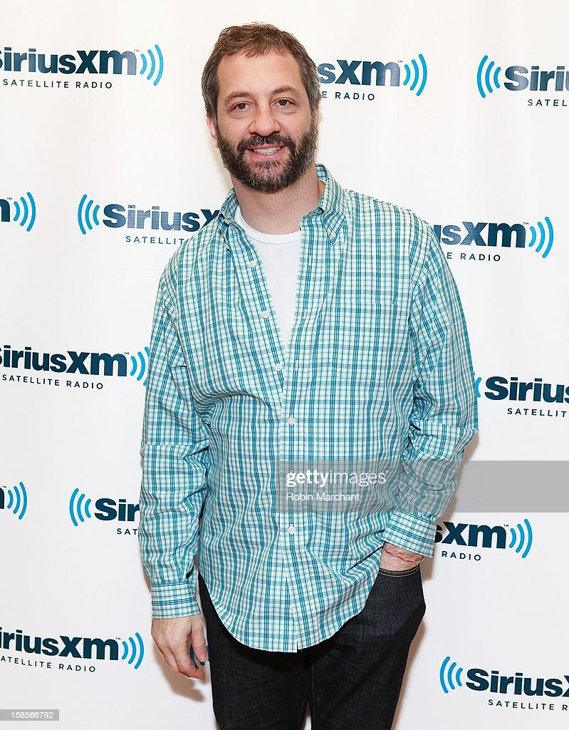 Producer/director/ screenwriter <a gi-track='captionPersonalityLinkClicked' href=/galleries/search?phrase=Judd+Apatow&family=editorial&specificpeople=854225 ng-click='$event.stopPropagation()'>Judd Apatow</a> visits the SiriusXM Studios on December 19, 2012 in New York City.