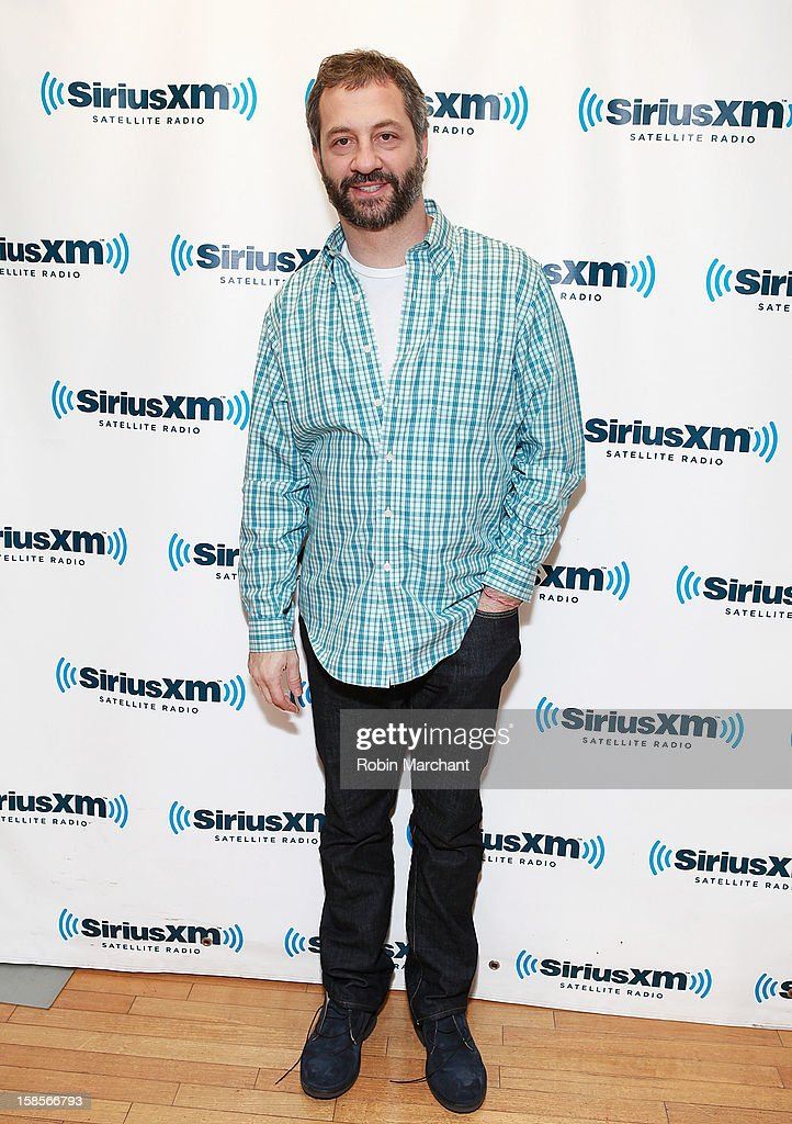 Producer/director/ screenwriter Judd Apatow visits the SiriusXM Studios on December 19, 2012 in New York City.