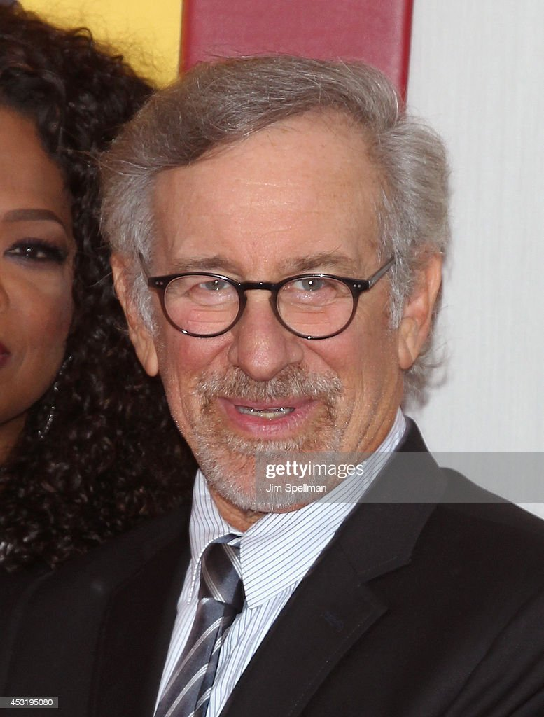Producer/director Steven Spielberg attends the 'The Hundred-Foot Journey' New York Premiere at Ziegfeld Theater on August 4, 2014 in New York City.