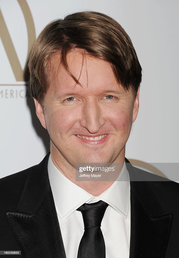 Producer/Director Tom Hooper arrives at the 24th Annual Producers Guild Awards at The Beverly Hilton Hotel on January 26, 2013 in Beverly Hills, California.