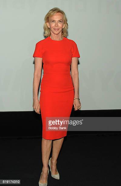 Producer/director Trudie Styler attends the New York Women In Film Television Present The Art Of Creative People With Celine Rattray And Trudie...