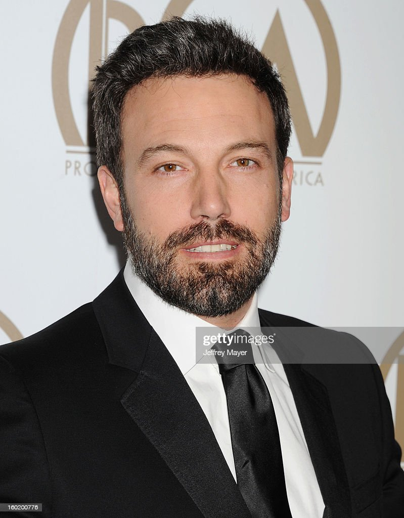 Producer/Director/Actor Ben Affleck arrives at the 24th Annual Producers Guild Awards at The Beverly Hilton Hotel on January 26, 2013 in Beverly Hills, California.