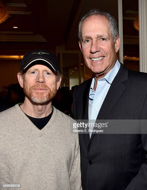 Producer/directors Ron Howard and Marc Abraham attend March of Dimes' Celebration of Babies A Hollywood Luncheon at the Beverly Wilshire Hotel on...