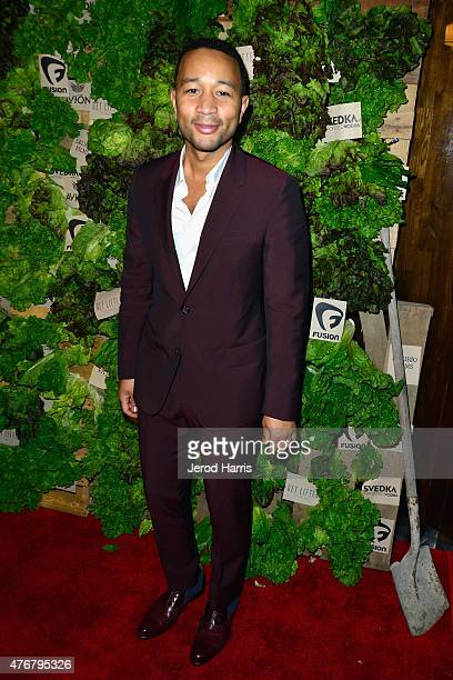 Producer/recording artist John Legend attends the 'Can You Dig This' after party during the 2015 Los Angeles Film Festival at The Conga Room at LA...
