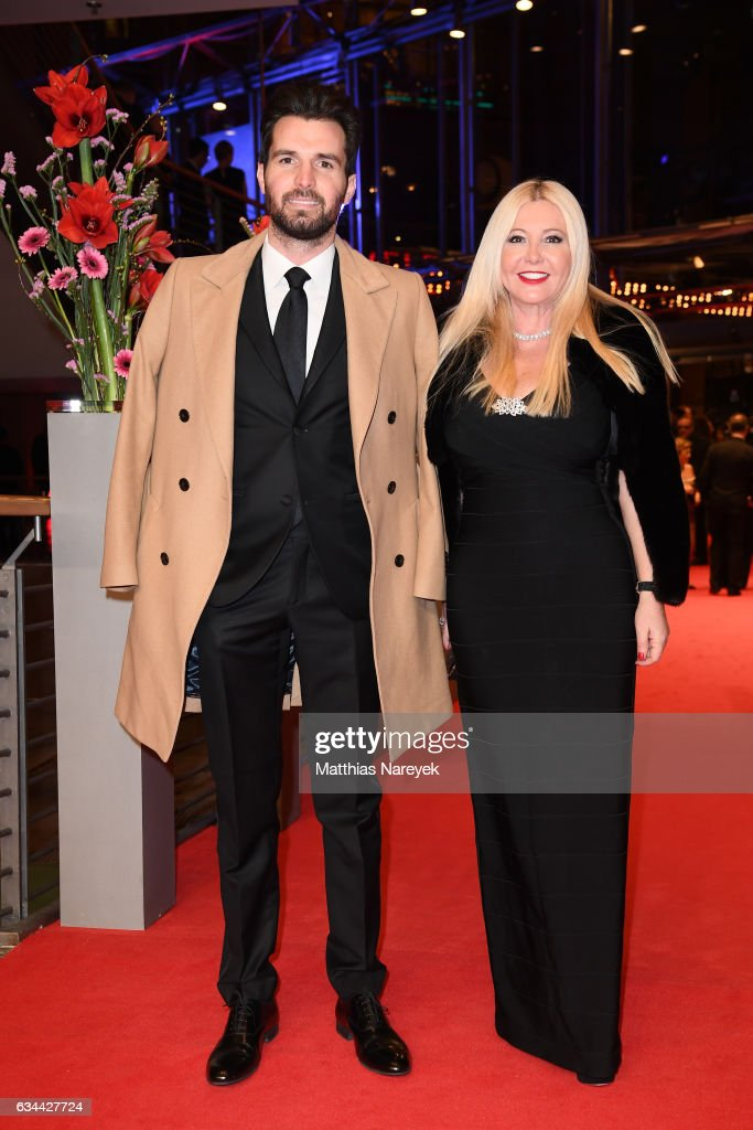 Producers Andrea Iervolino and Monika Bacardi attend the 'Django' premiere during the 67th Berlinale International Film Festival Berlin at Berlinale Palace on February 9, 2017 in Berlin, Germany.