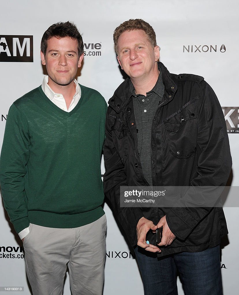Producers Ben Lyons and <a gi-track='captionPersonalityLinkClicked' href=/galleries/search?phrase=Michael+Rapaport&family=editorial&specificpeople=234353 ng-click='$event.stopPropagation()'>Michael Rapaport</a> attend After Party For Jason Bergh's New Film Alekesam at Tribeca Grand Hotel on April 20, 2012 in New York City.