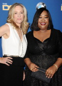 Producers Betsy Beers and Shonda Rhimes attend the 66th annual Directors Guild of America Awards at the Hyatt Regency Century Plaza on January 25...