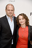 Producers Brad Simpson and Nina Jacobson attend An Evening With'The People vs OJ Simpson' during the 2016 Los Angeles Film Festival at LACMA on June...