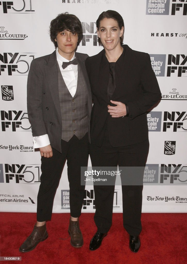 Producers Chelsea Barnard and Megan Ellison attend the Closing Night Gala Presentation Of 'Her' during the 51st New York Film Festival at Alice Tully Hall at Lincoln Center on October 12, 2013 in New York City.
