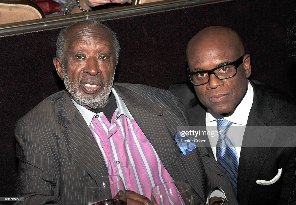 Producers Clarence Avant (L) and L.A. Reid attend Clive Davis and The Recording Academy's 2012 Pre-GRAMMY Gala and Salute to Industry Icons Honoring Richard Branson at The Beverly Hilton hotel on February 11, 2012 in Beverly Hills, California.