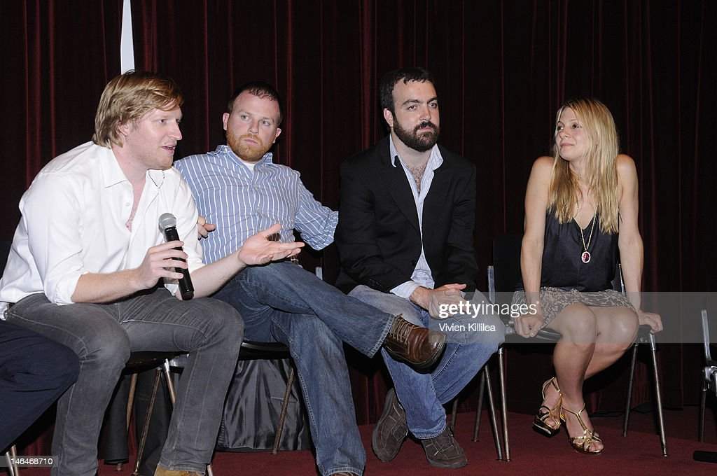 Producers Dan Janvey, Michael Gottwald and Josh Penn and writer Lucy Alibar attend 'Beasts Of The Southern Wild' Special Screening - Panel And Q&A at Soho House on June 16, 2012 in West Hollywood, California.