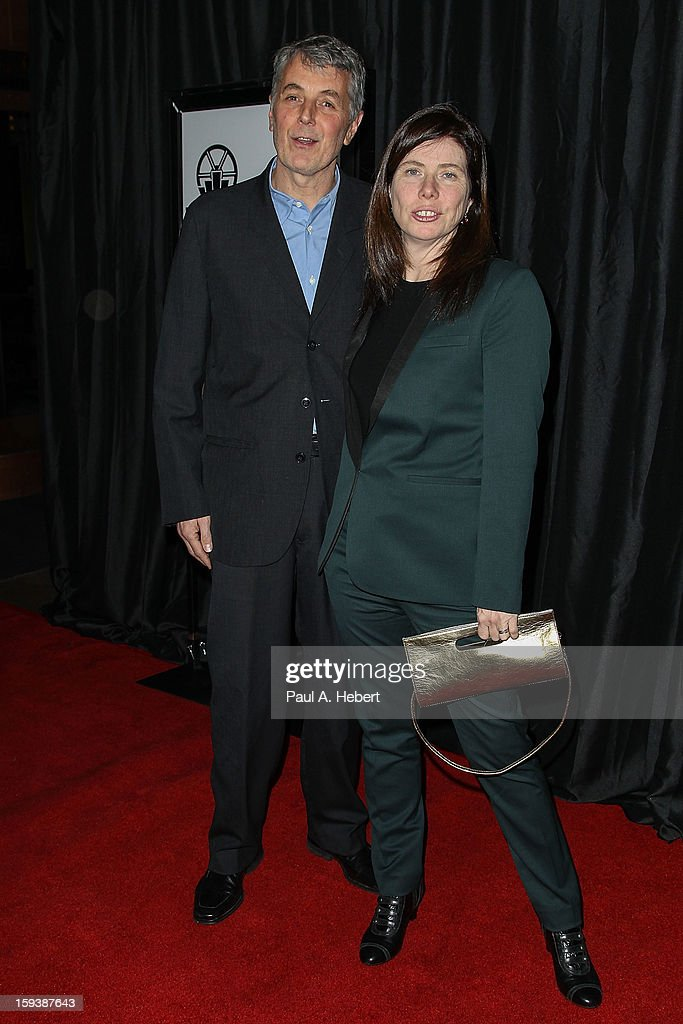 Producers Daniel Lupi (L) and JoAnne Sellar arrive at the 38th Annual Los Angeles Film Critics Association Awards held at the InterContinental Hotel on January 12, 2013 in Century City, California.