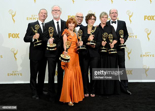 Producers David Coatsworth Gary Goetzman Jane Anderson and Steve Shareshian director Lisa Cholodenko and actors Frances McDormand and Richard Jenkins...
