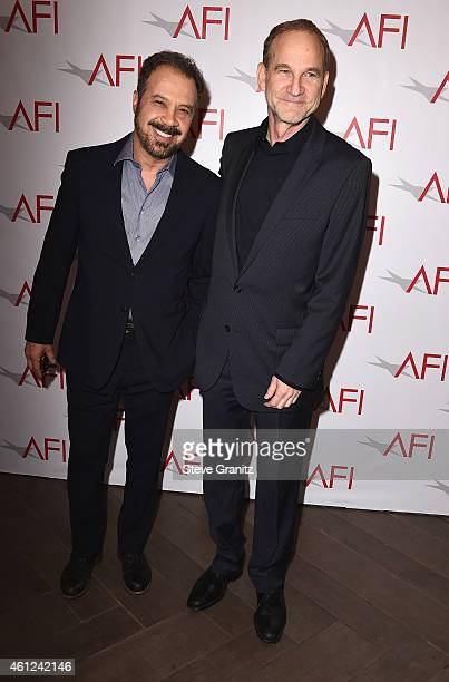 Producers Ed Zwick and Marshall Herskovitz attend the 15th Annual AFI Awards at Four Seasons Hotel Los Angeles at Beverly Hills on January 9 2015 in...