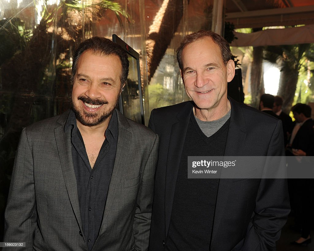 Producers Edward Zwick (L) and Marshall Herskovitz attend the 13th Annual AFI Awards at Four Seasons Los Angeles at Beverly Hills on January 11, 2013 in Beverly Hills, California.