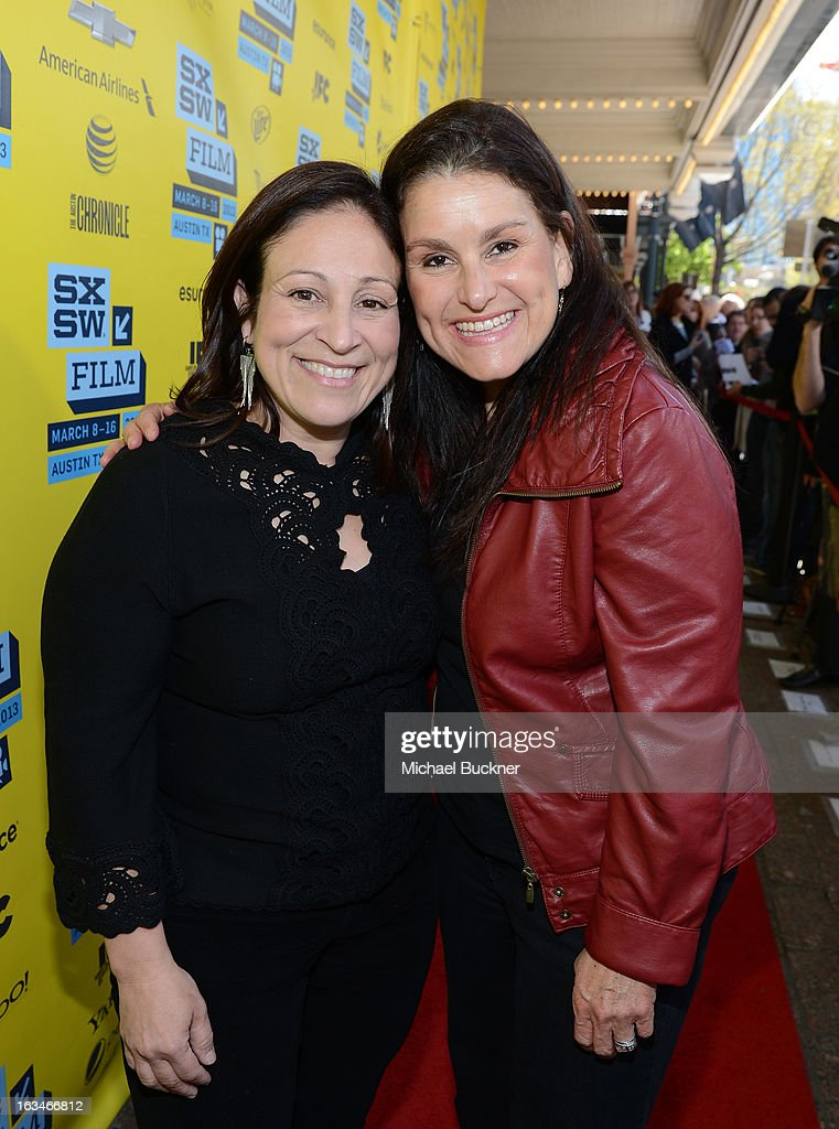Producers Elizabeth Avellan and Shannon McIntosh attend the screening of 'When Angels Sing' during the 2013 Music, Film + Interactive Festival at the Paramount Theatre on March 10, 2013 in Austin, Texas.