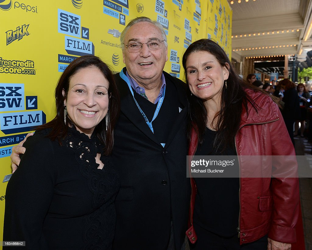 Producers Elizabeth Avellan, <a gi-track='captionPersonalityLinkClicked' href=/galleries/search?phrase=Fred+Miller&family=editorial&specificpeople=2106879 ng-click='$event.stopPropagation()'>Fred Miller</a> and Shannon McIntosh attend the screening of 'When Angels Sing' during the 2013 Music, Film + Interactive Festival at the Paramount Theatre on March 10, 2013 in Austin, Texas.