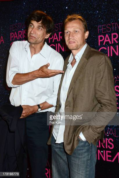 Producers Eric Altmayer and Nicolas Altmayer attend the 'Le Grand Mechant Loup' Paris premiere at Cinema Gaumont Opera on July 9 2013 in Paris France