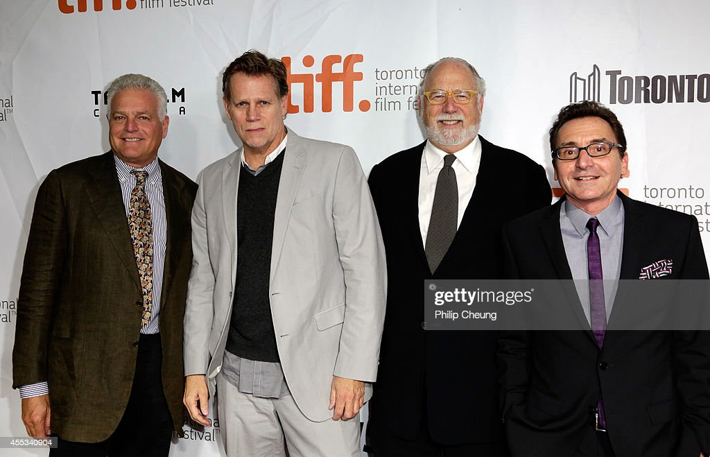 Producers Eugene Musso, Al Corley, Executive Producer Jonathan Dana and Producer Bart Rosenblatt attend 'The Forger' premiere during the 2014 Toronto International Film Festival at Roy Thomson Hall on September 12, 2014 in Toronto, Canada.