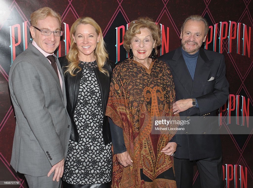 Producers Howard Kagan, Janet Kagan, Fran Weissler and Barry Weissler attend the 'Pippin' Broadway Open Press Rehearsal at Manhattan Movement & Arts Center on March 8, 2013 in New York City.