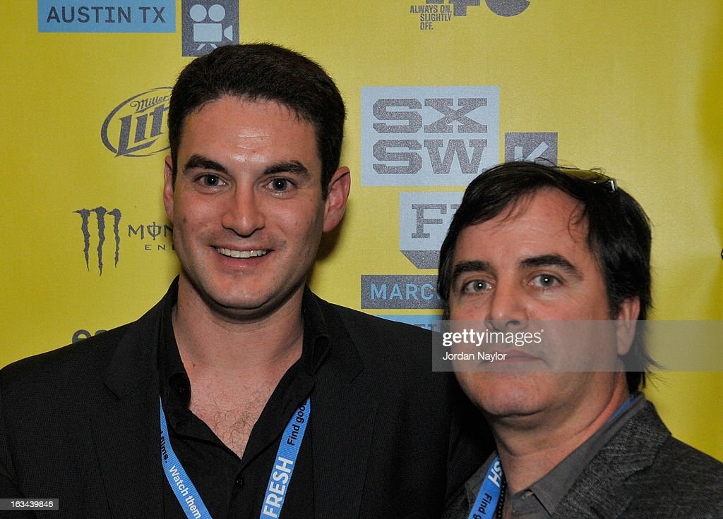 Producers Jason Michael Berman and Tom Fore arrive at the screening of 'Kilimanjaro' during the 2013 SXSW Music, Film + Interactive Festival at Stateside Theater on March 9, 2013 in Austin, Texas.