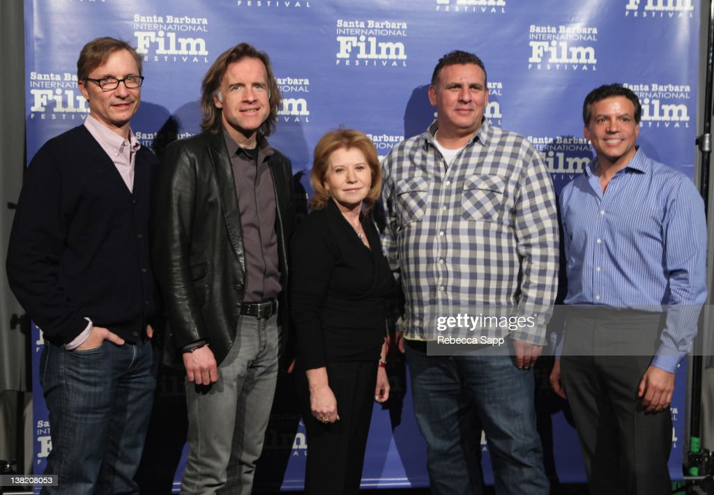 """Producers Jim Burke of """"The Descendants"""" Bill Pohlad of """"The Tree of Life"""" Letty Aronson of """"Midnight in Paris"""" Graham King of """"Hugo"""" and Mike De..."""