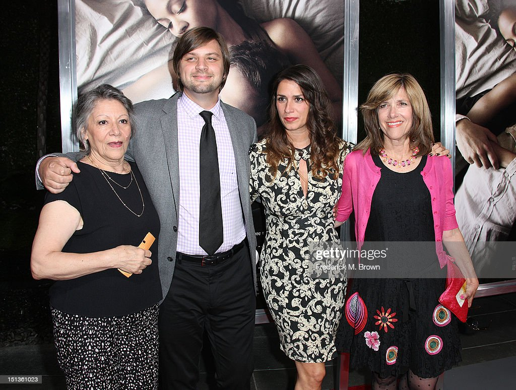 Producers Jim Young and Tatiana Kelly (C) and their guest attend the Premiere Of CBS Films' 'The Words' at the ArcLight Cinemas on September 4, 2012 in Hollywood, California.