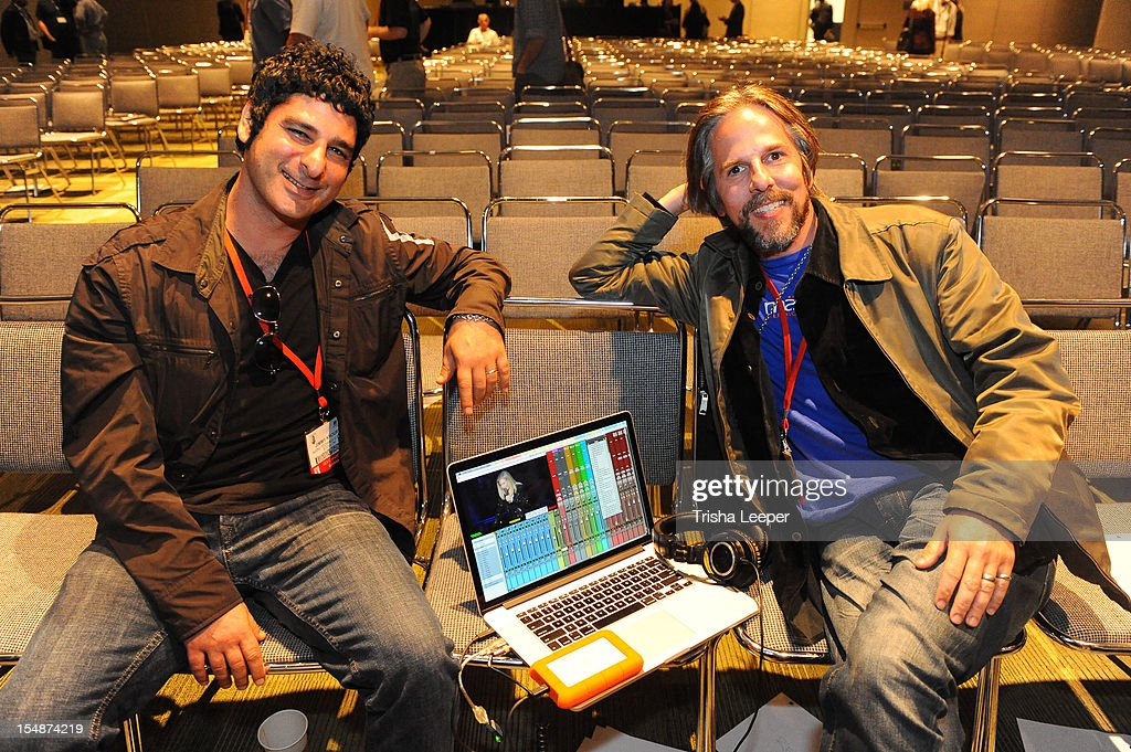 Producers Jimmy Khoury and Dave Reitas attend the GRAMMY SoundTables: Sonic Imprints-Songs That Changed My Life at The Moscone Center on October 27, 2012 in San Francisco, California.