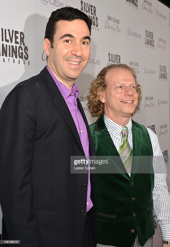 Producers Jonathan Gordon (L) and Bruce Cohen attend the 'Silver Linings Playbook' Los Angeles special screening at the Academy of Motion Picture Arts and Sciences on November 19, 2012 in Beverly Hills, California.