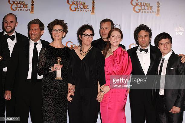 Producers Jordan Horowitz and Gary Gilbert actress Annette Bening director Lisa Cholodenko screenwriter Stuart Blumberg actors Julianne Moore Mark...
