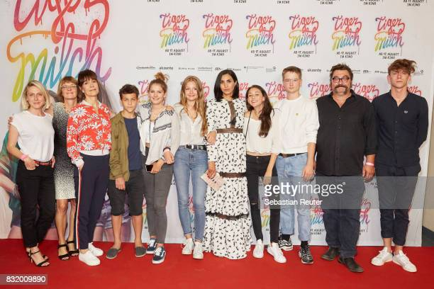 Producers Judith Fuelle and Susanne Freyer director Ute Wieland actors David Ali Rashed Romy Paul Flora Li Thiemann Narges Rashidi Emily Kusche...