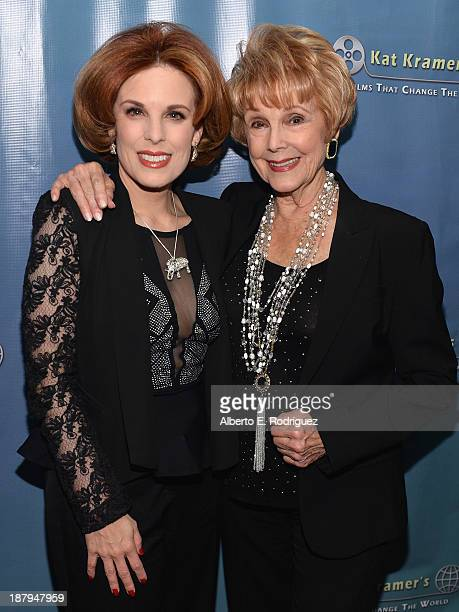 Producers Kat Kramer and Karen Kramer attend the 5th anniversary of 'Kat Kramer's Films That Changed The World' featuring the North American premiere...