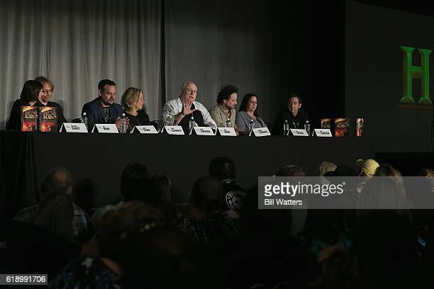 Producers Kristina Djokic Executive Producers Susan Leventhal Kevin Burns Kim Sheerin Max Thompson and David Silver Actor Bill Mumy and writer and TV...