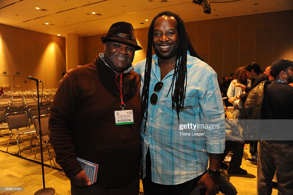 Producers Larry Batisle and James McKinney attend the GRAMMY SoundTables: Sonic Imprints-Songs That Changed My Life at The Moscone Center on October 27, 2012 in San Francisco, California.
