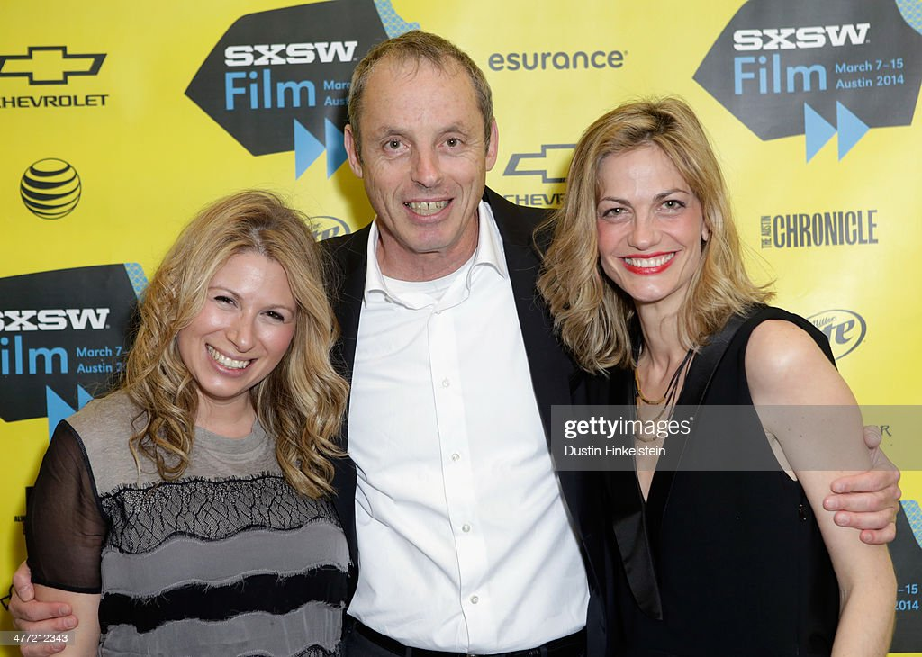 Producers Mandy Tagger, Ishay Mor and Adi Ezroni attend the 'Kelly & Cal' Photo Op and Q&A during the 2014 SXSW Music, Film + Interactive Festival at Rollins Theatre at The Long Center on March 7, 2014 in Austin, Texas.