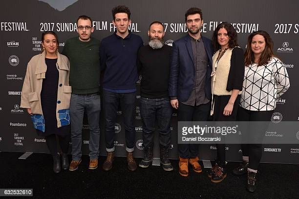 Producers Manon Ardisson and Jack Tarling actor Josh O'Connor Director Francis Lee actor Alec Secareanu and EPs Anna Duffield and Mary Burke attend...