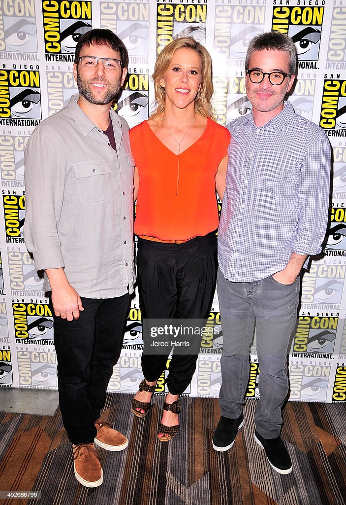 Producers Mark Goffman, Heather Kadin, and Alex Kurtzman attend the 'Sleepy Hollow' Press Line during Comic-Con International 2014 at Hilton Bayfront on July 25, 2014 in San Diego, California.