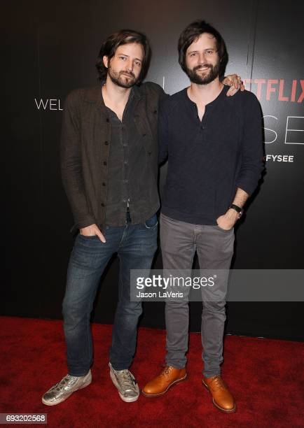 Producers Matt Duffer and Ross Duffer attend the 'Stranger Things' FYC event at Netflix FYSee Space on June 6 2017 in Beverly Hills California