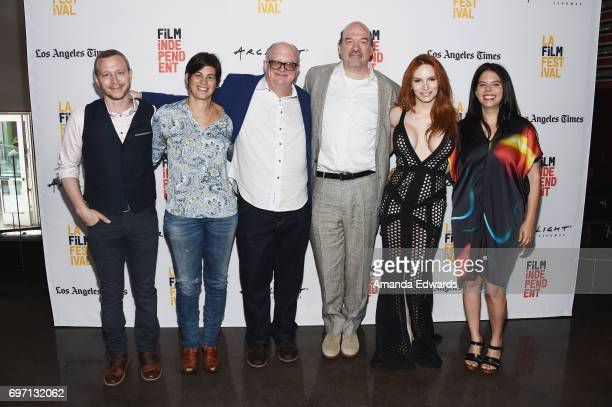 Producers Micah Hauptman and Louise Runge director Timothy McNeil actor John Carroll Lynch and producers Kylene K Steele and Ofrit Peres attend the...