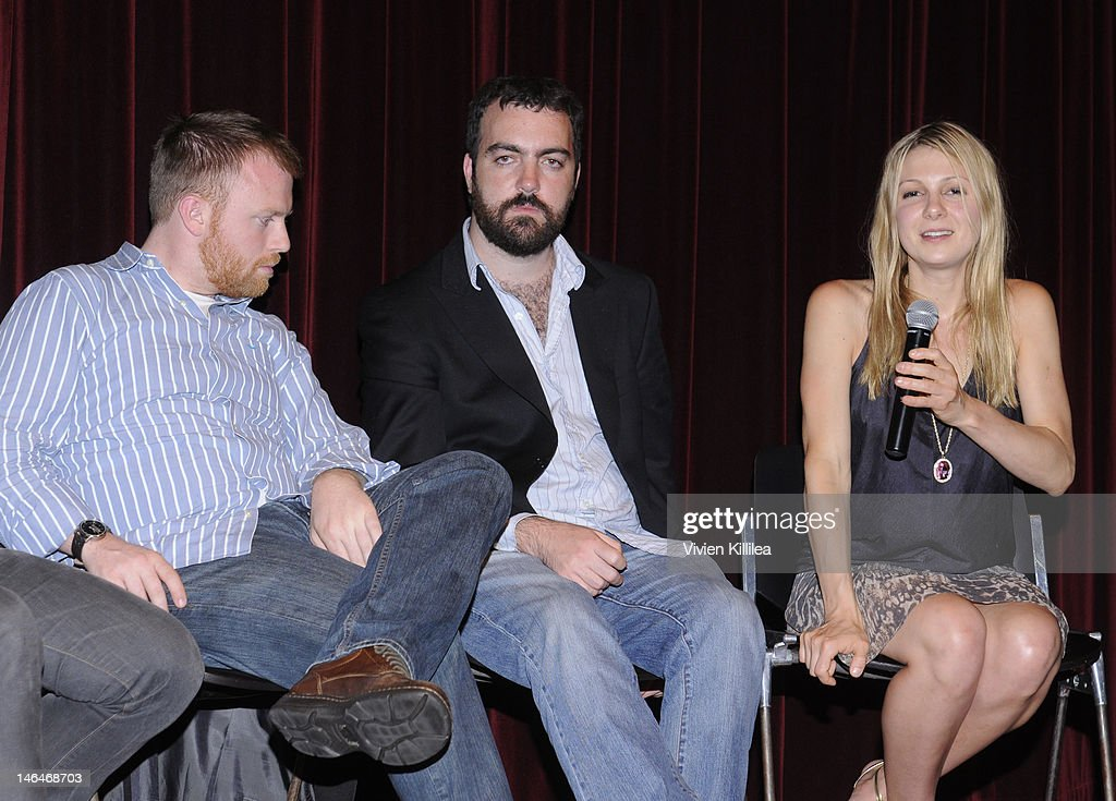 Producers Michael Gottwald and Josh Penn and writer Lucy Alibar attend 'Beasts Of The Southern Wild' Special Screening - Panel And Q&A at Soho House on June 16, 2012 in West Hollywood, California.